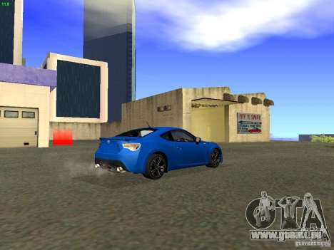 Toyota GT86 Limited pour GTA San Andreas vue de côté