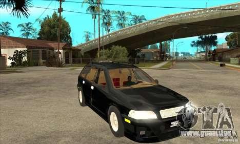 Volvo V40 Touring pour GTA San Andreas vue arrière