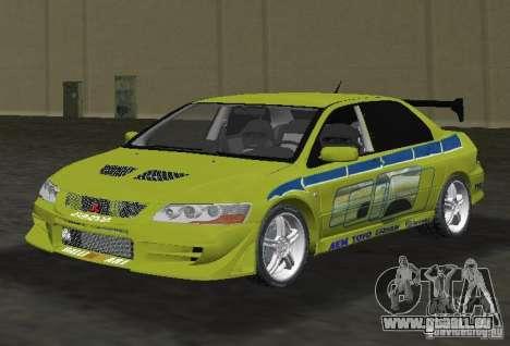 Mitsubishi Lancer Evolution VII für GTA Vice City