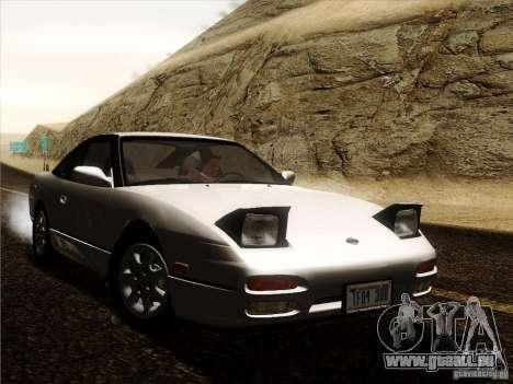 Nissan 240SX S13 - Stock für GTA San Andreas Rückansicht