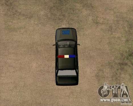 VAZ-2115-DPS für GTA San Andreas Rückansicht