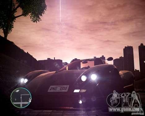 Pagani Zonda C12S Roadster pour GTA 4 est un droit