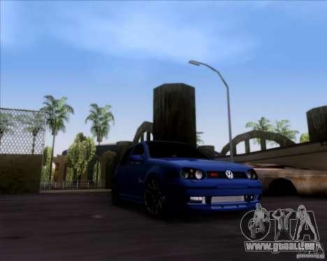 Volkswagen Golf GTi 2003 pour GTA San Andreas laissé vue