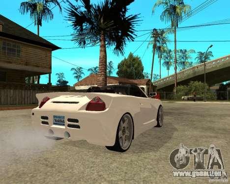 Toyota MRS2 Veilside pour GTA San Andreas sur la vue arrière gauche