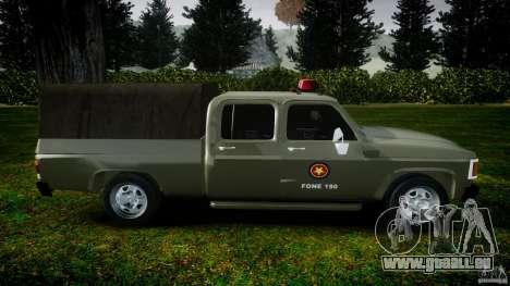 Chevrolet D20 Brigada Militar RS für GTA 4 linke Ansicht
