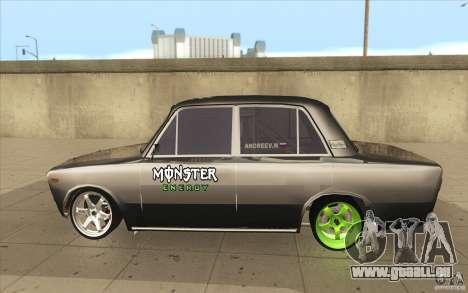 VAZ 2106 Lada Drift abgestimmt für GTA San Andreas linke Ansicht