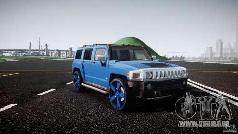 Hummer H3 für GTA 4 Innenansicht