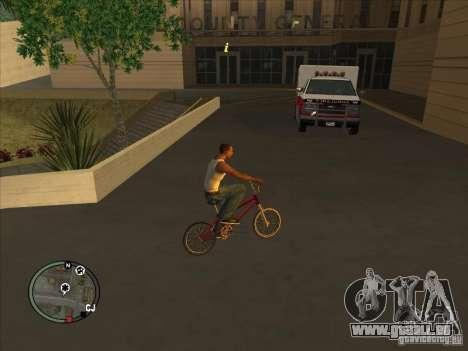Addon à icônes pour GTA San Andreas deuxième écran
