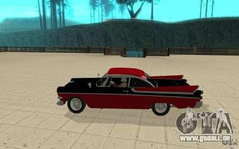Dodge Lancer 1957 für GTA San Andreas linke Ansicht