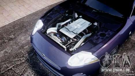 Jaguar XKR-S für GTA 4 Innenansicht