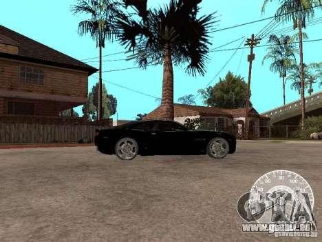 Chevrolet Camaro Concept pour GTA San Andreas laissé vue