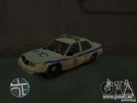 Ford Crown Victoria Police pour GTA 4 Vue arrière