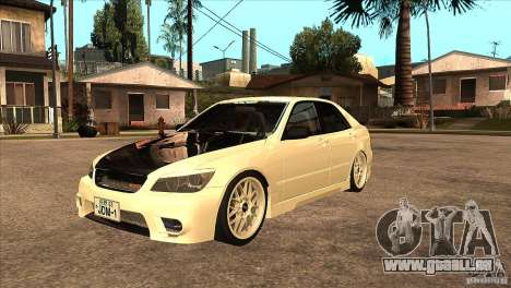 Toyota Altezza RS200 JDM Style für GTA San Andreas