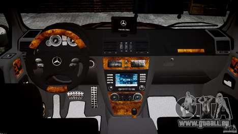 Mercedes Benz G55 AMG Final für GTA 4 obere Ansicht