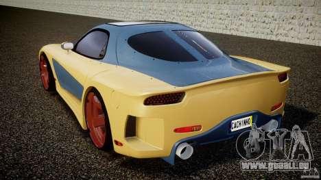 Mazda RX-7 Veilside v0.8 pour GTA 4 Vue arrière de la gauche