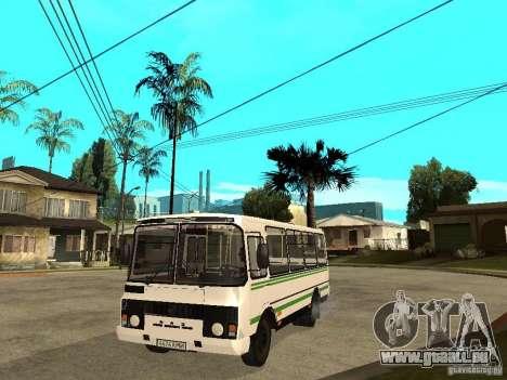 PAZ 3205 pour GTA San Andreas
