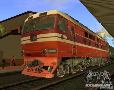 Mod de chemin de fer pour GTA San Andreas septième écran