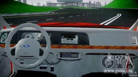 Ford Crown Victoria 2003 v.2 Taxi pour GTA 4 est un droit