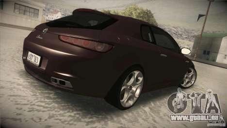 Alfa Romeo Brera Ti pour GTA San Andreas vue de droite