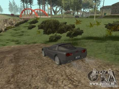 Guépard de GTA 4 pour GTA San Andreas vue de droite