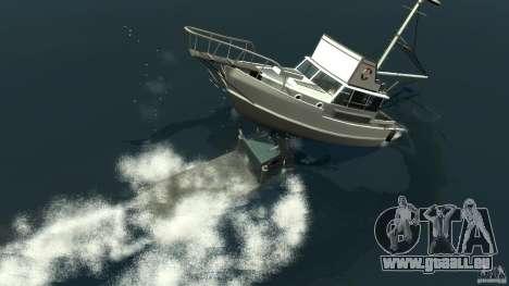 Biff boat pour GTA 4 est une vue de dessous
