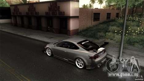 Acura RSX Spoon Sports pour GTA San Andreas vue intérieure