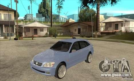 Toyota Alteza Wagon pour GTA San Andreas