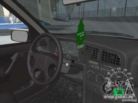 Volkswagen Passat B3 pour GTA San Andreas vue de dessous