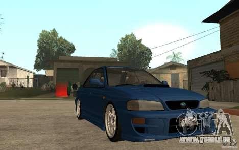 Subaru Impreza GC8 JDM SPEC pour GTA San Andreas vue arrière