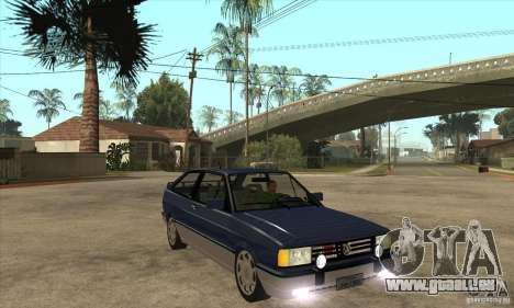 VW Gol GTI 1989 pour GTA San Andreas vue arrière