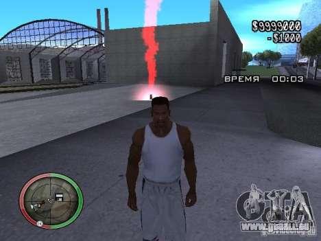 Dynamite MOD pour GTA San Andreas troisième écran