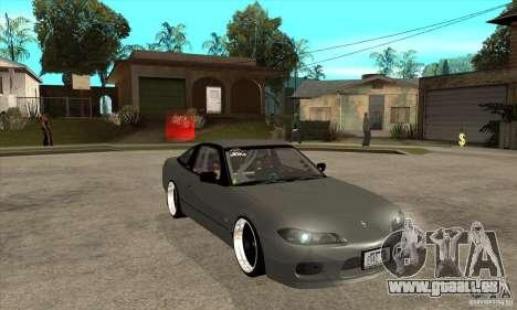 Nissan Silvia S15 1999 pour GTA San Andreas vue arrière