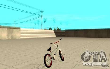 REAL Street BMX mod Chrome Edition pour GTA San Andreas sur la vue arrière gauche