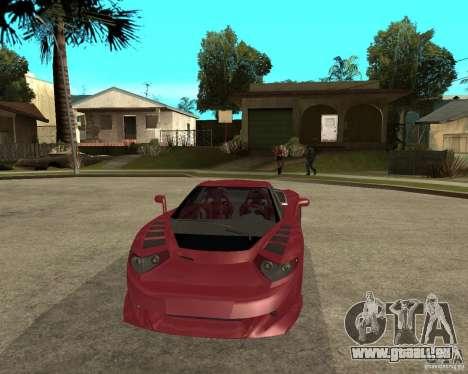 B-Engineering Edonis für GTA San Andreas Rückansicht