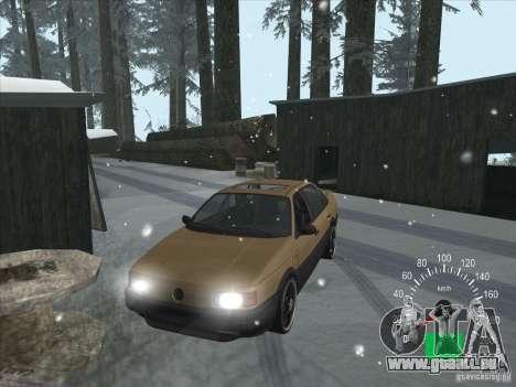 Volkswagen Passat B3 pour GTA San Andreas vue intérieure