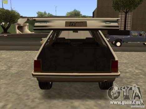 Ford Fiesta 1981 für GTA San Andreas rechten Ansicht