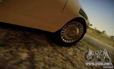 Ford Crown Victoria Missouri Police pour GTA San Andreas vue de droite