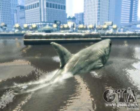 Megalodon für GTA 4 Rückansicht