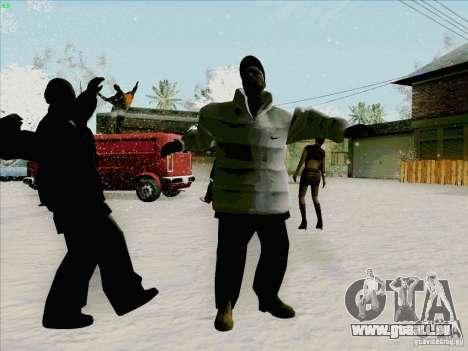 Harlem Shake pour GTA San Andreas quatrième écran