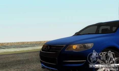 VolksWagen Touareg R50 JE Design Tuning für GTA San Andreas Rückansicht