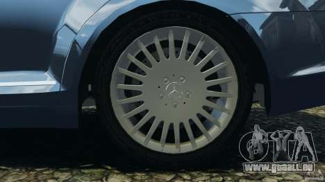 Mercedes-Benz W221 S500 2006 für GTA 4 Unteransicht