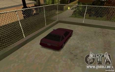 Sportwagen in der Nähe von Grove Street für GTA San Andreas