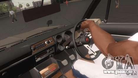 Nissan Skyline 2000 GT-R Coupe pour GTA San Andreas vue de droite