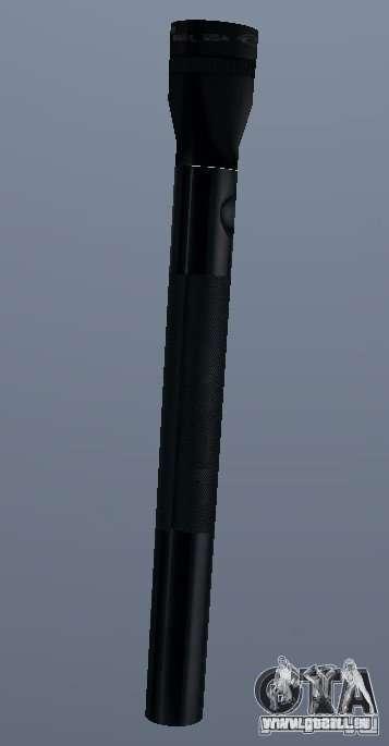 Maglite pour GTA San Andreas deuxième écran