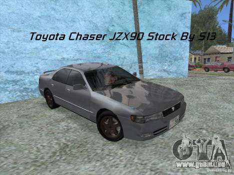 Toyota Chaser JZX90 Stock pour GTA San Andreas