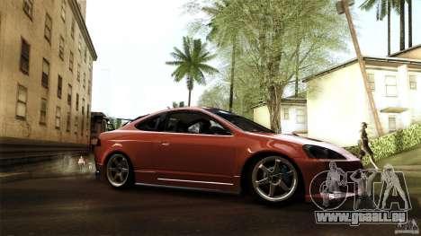 Acura RSX Spoon Sports pour GTA San Andreas sur la vue arrière gauche