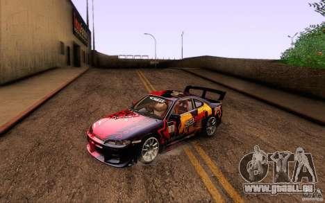 Nissan Silvia S15 Drift Style für GTA San Andreas Innen