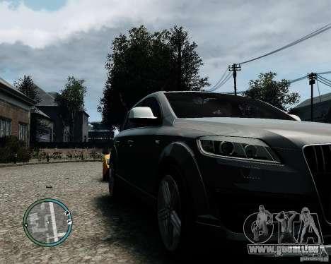 Audi Q7 V12 TDI Quattro Updated pour GTA 4 est une gauche