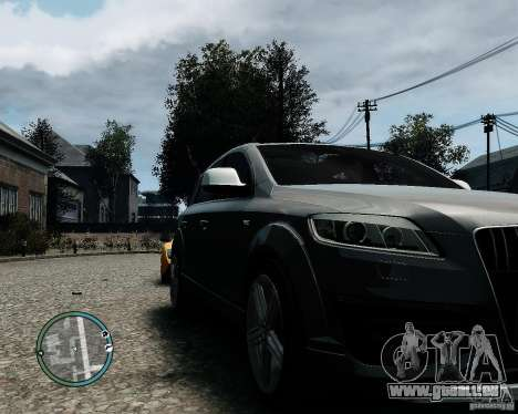 Audi Q7 V12 TDI Quattro Updated für GTA 4 linke Ansicht