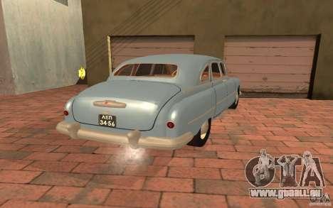 GAZ-12 ZIM für GTA San Andreas linke Ansicht